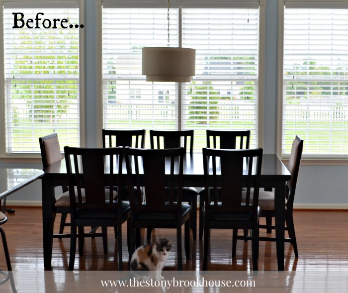 Dark Dining Table