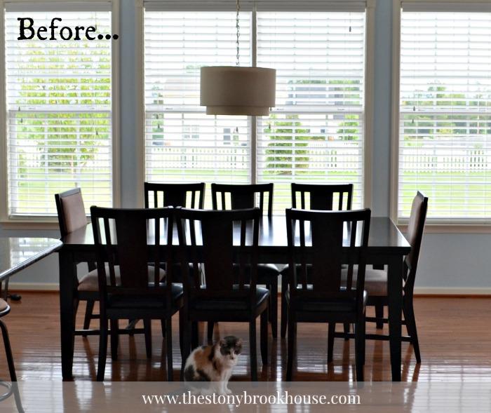 Dark Dining Table