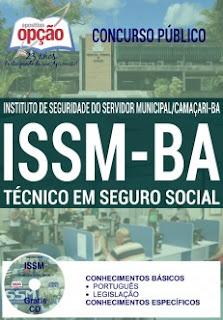 Apostila Concurso ISSM Camaçari 2016, Técnico em Seguro Social