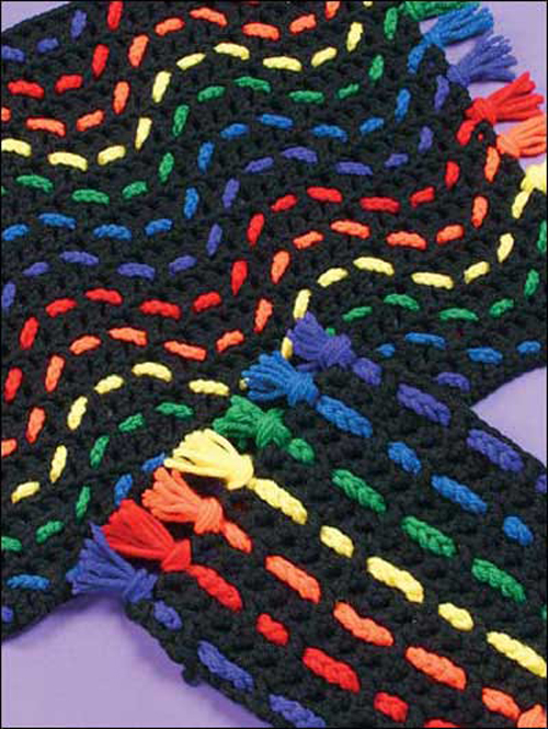 Amish Stripes Place Mat - Free Pattern
