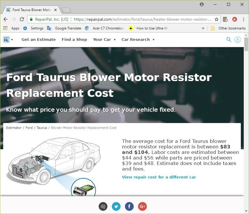 As You Can See Online Estimate Was Not Really Encouraging Price Of Repair Is Comparable With Kbb Trade In Value My Car No Way I Am Going To Pay It