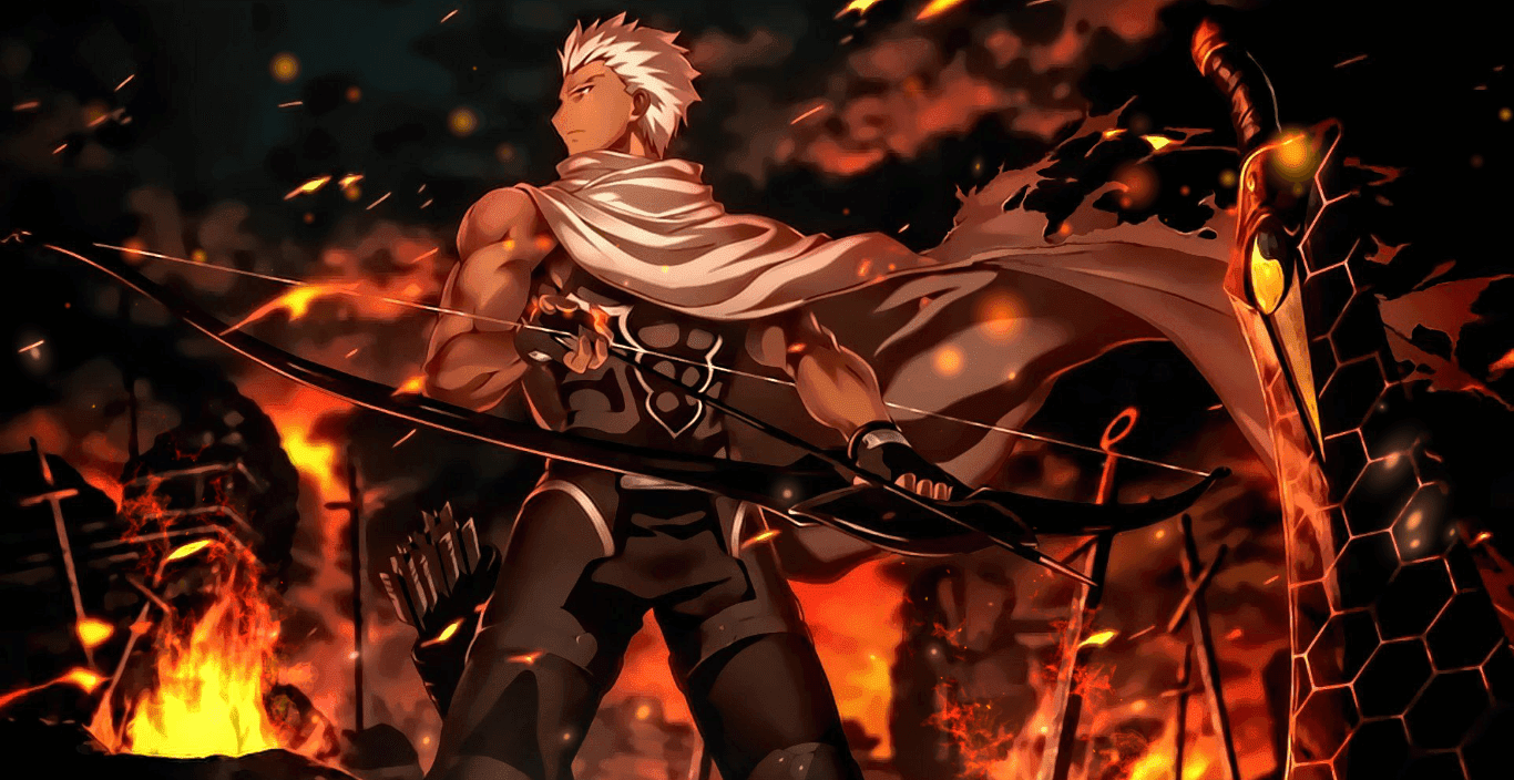 Fate/stay night: Unlimited Blade Works - Archer [Wallpaper Engine Anime]
