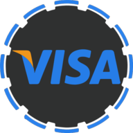 visa social button