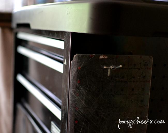 Vinyl and Heat Press Rolling Storage
