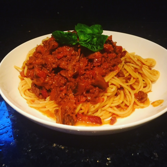The Ultimate Spaghetti Bolognese