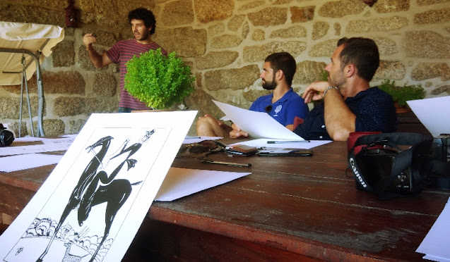 workshop de pintura do Amadeo Souza Cardoso