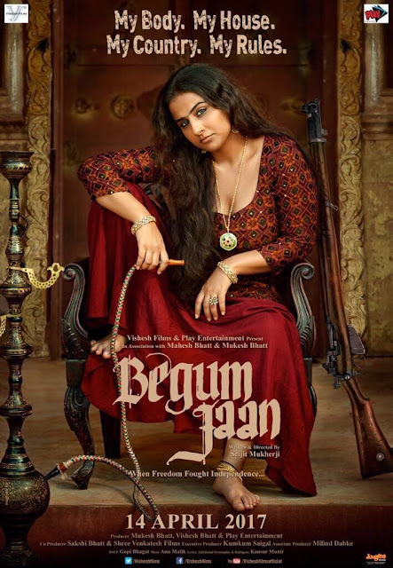 Vidya Balan's 'Begum Jaan' Movie First Look Poster