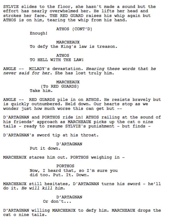 simon says script