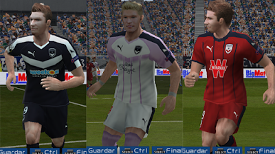 PES 6 Kits Girondins de Bordeaux Season 2018/2019 by Suede