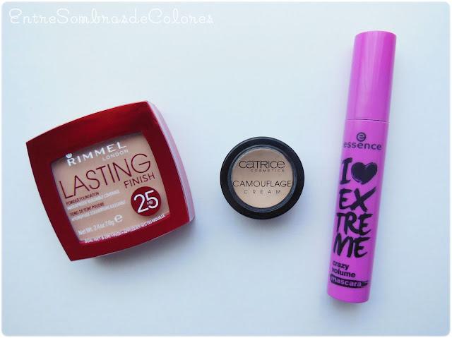básicos maquillaje (Entre Sombras de Colores)