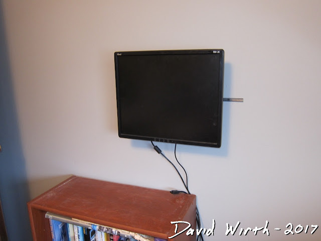 how to mount computer monitor to wall, free, easy, make