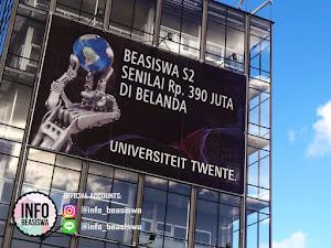 Beasiswa S2 di University of Twente Belanda