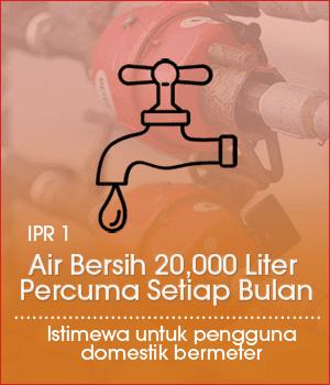 air bersih percuma selangor