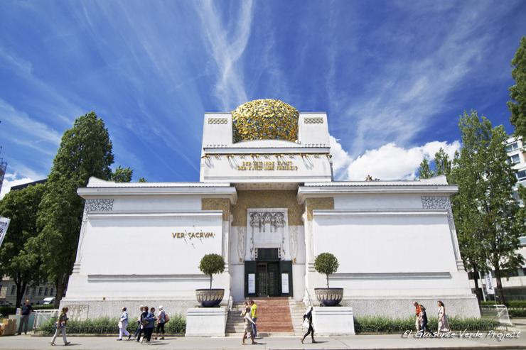 Pabellón de la Secesión - Viena, por El Guisante Verde Project