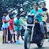 indian lady riding bike 379