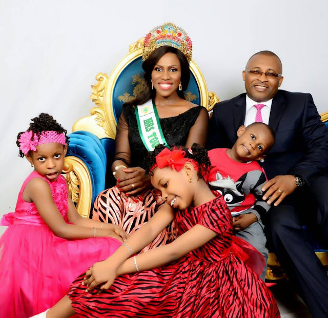 Mrs UN Tourism Shares Adorable Photos of her Family