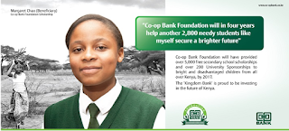 Cooperative bank of kenya banker Africa awards