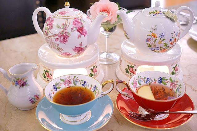 DSC01036 - 熱血採訪│古典玫瑰園台中大遠百店,悠閒下午茶時光,藏匿在百貨公司私密專櫃之中