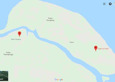 Keindahan Suasana Alam Tasik Air Putih, Rangsang, Kepulauan Meranti