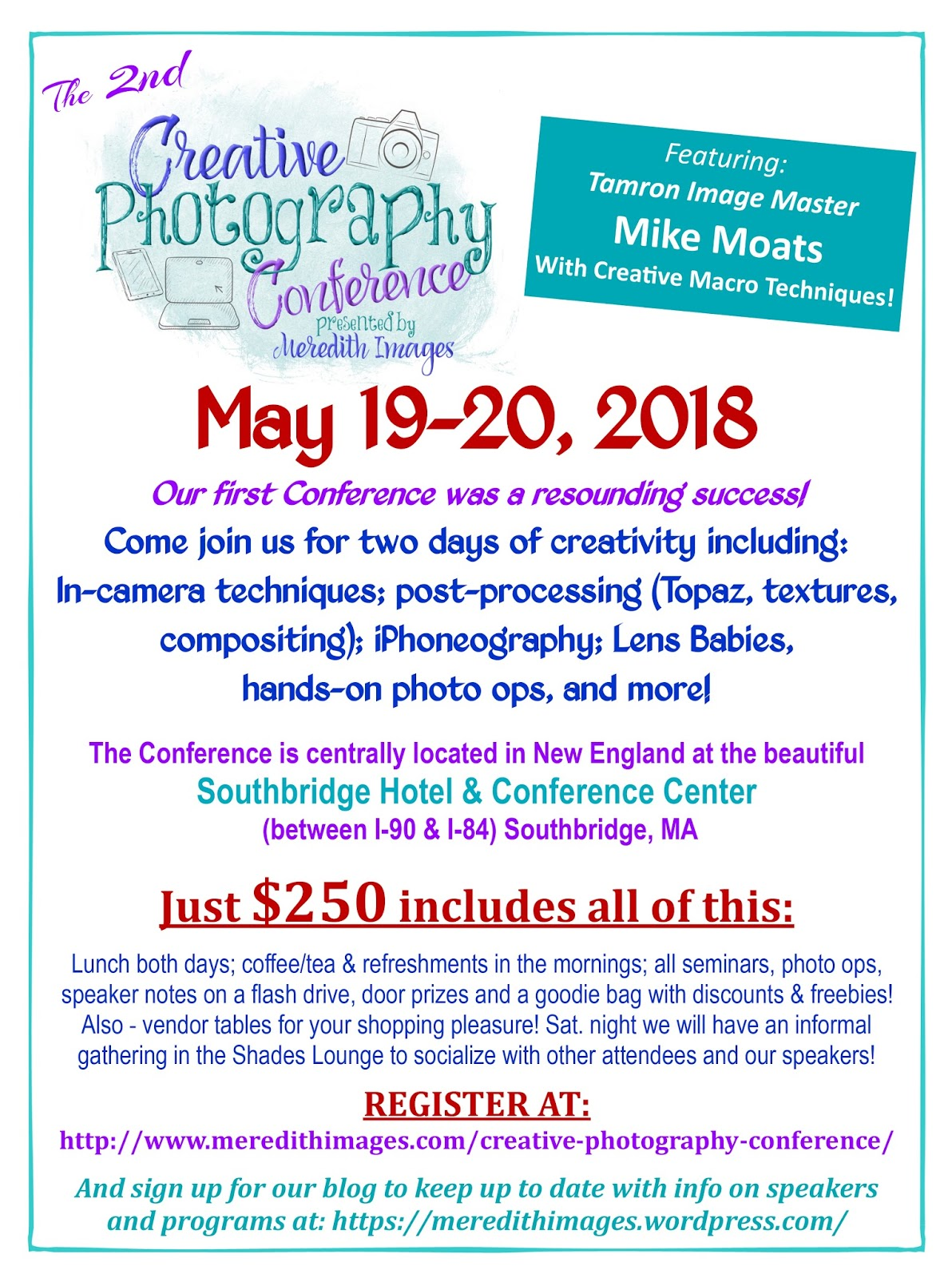NECCC News Registration For The 2018 Creative Photography Conference Is Now Open