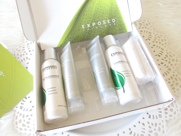 60 Days to Clearer Skin with EXPOSED SKINCARE - Unboxing 1