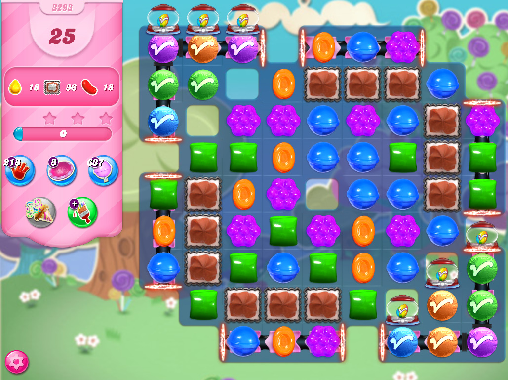 Candy Crush Saga level 3293