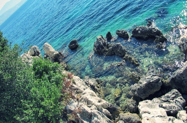 beautiful and wild Corfu island nature