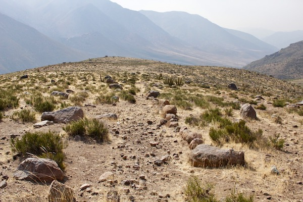 Camino del Inca, cordillera de Salamanca