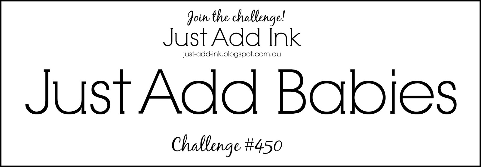 Mae Collins Just Add Babies For The Jai Challenge This Week