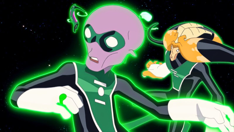Green Lantern Emerald Knights Dc Animated Movie Johnny Come