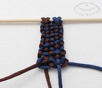 Makrama węzeł figowy