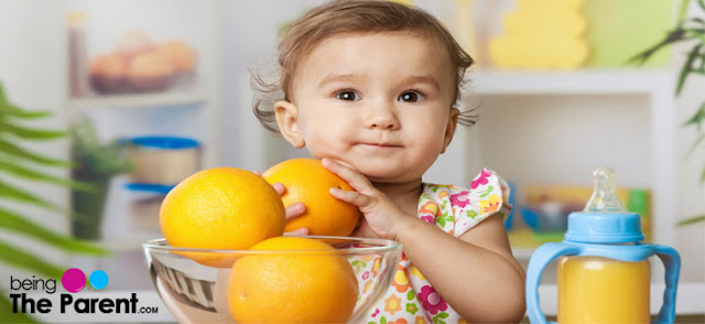 The benefits of orange juice for infants and adults
