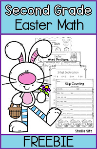 Easter Math Review Freebie
