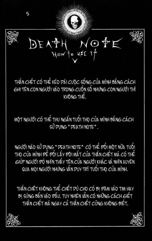 Death Note chapter 110 - how to use trang 8