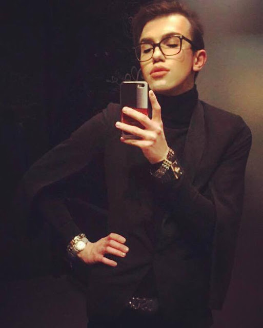 all black stylist boy moschino aboylovesfashion