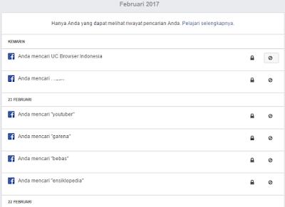 Bagaimana Tutorial Melihat Riwayat Pencarian di Facebook? 2