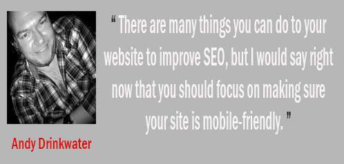 andy drinkwater - tips SEO