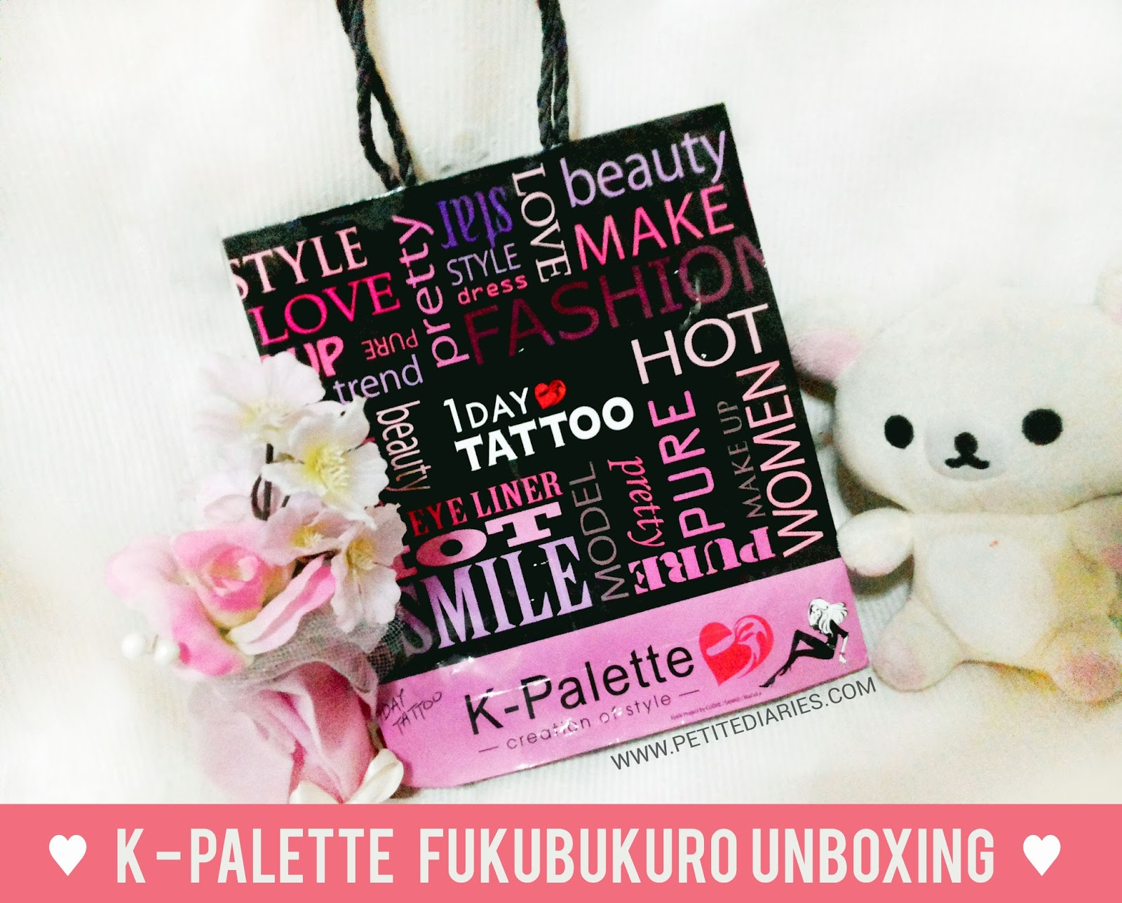 k palette japanese make up set fukubukuro new year