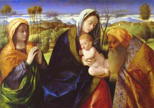 Tranh Giovanni Bellini, Tranh sơn dầu
