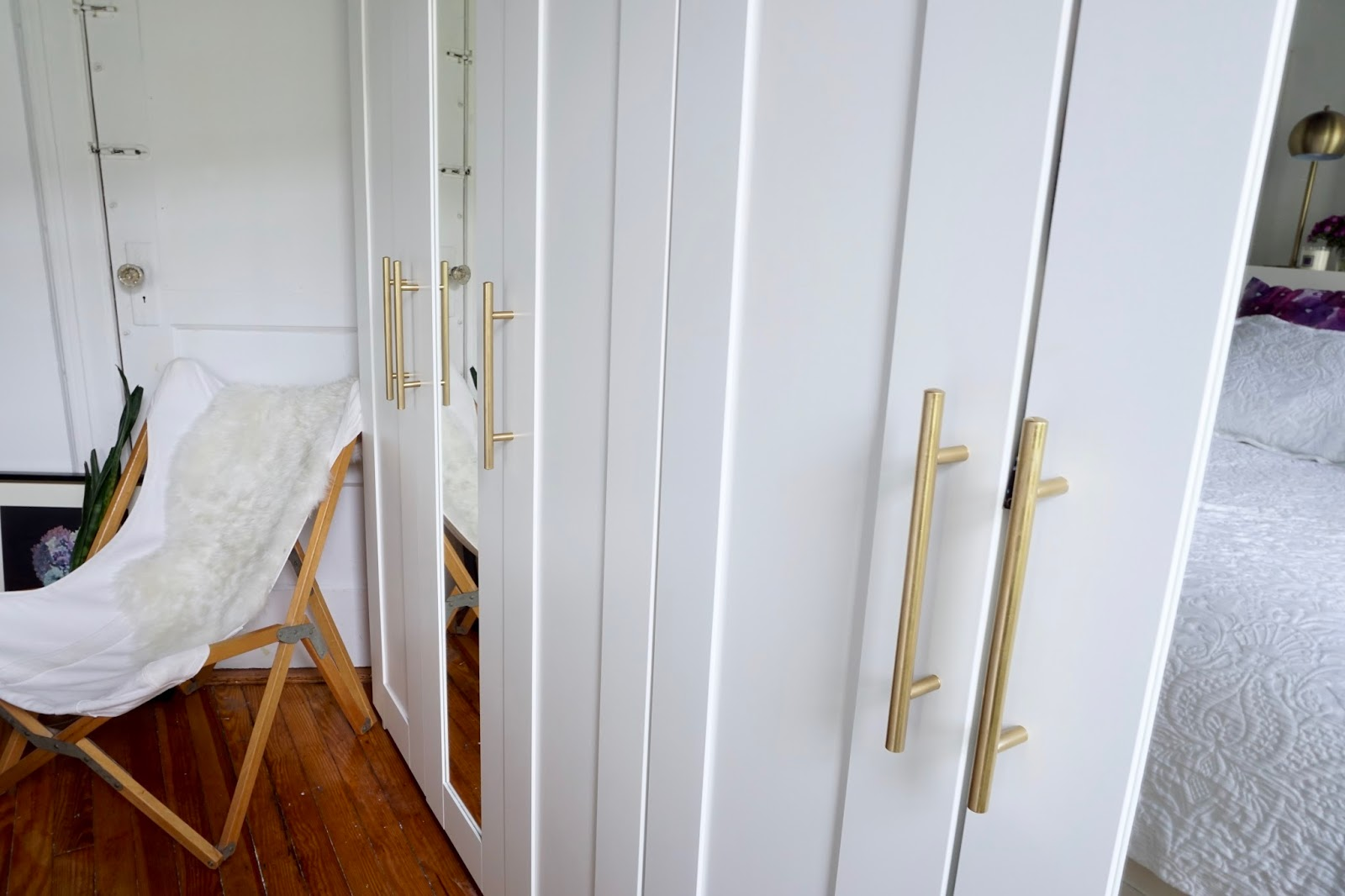 diy ikea brimnes wardrobe handle upgrade tfdiaries by. Black Bedroom Furniture Sets. Home Design Ideas