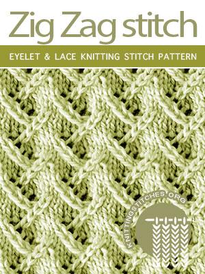 Eyelet & Lace Knitting Pattern Free