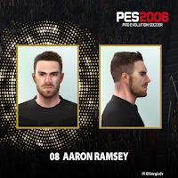 PES 6 Faces Aaron Ramsey by El SergioJr
