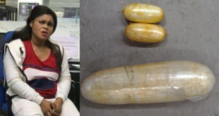 Nigerian Lady Arrested With Cocaine Concealed In Her Veejay