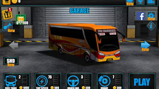Game Simulasi Bus Android - Telolet Bus Diving 3D