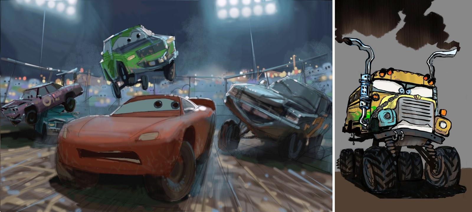 Mcqueen S Return Go Behind The Scenes Of Cars 3 Amp Read