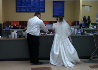 Meanwhile at Walmart Wedding Reception