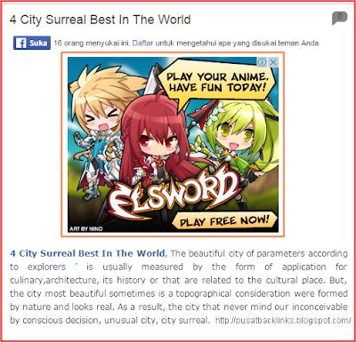 Cara Pasang Iklan Adsense tepat dibawah Judul Postingan Blog
