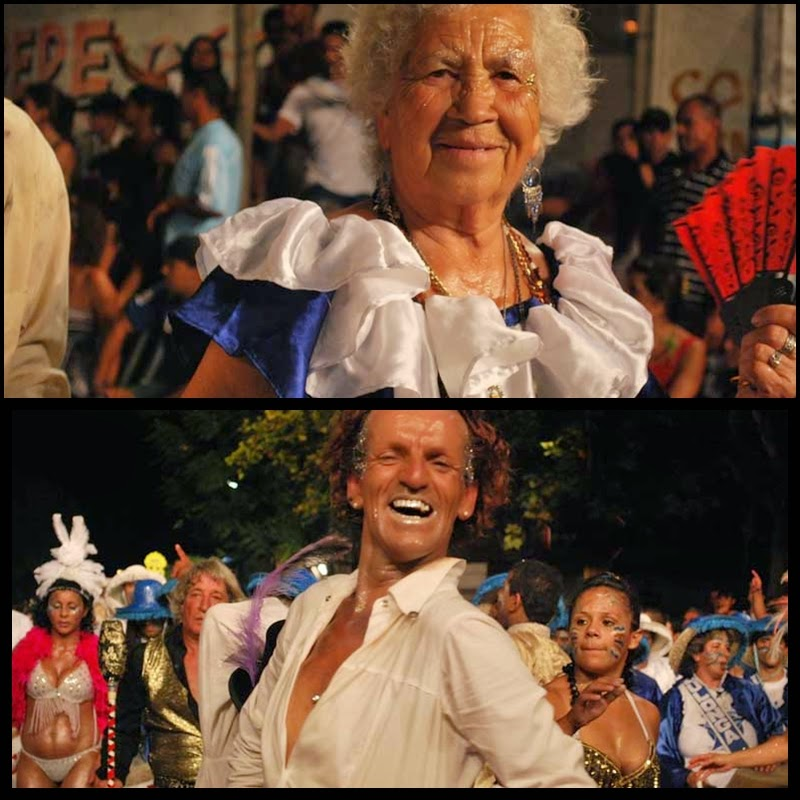 Carnaval. Desfile de Llamadas. Montevideo. Lulonga. 2010.