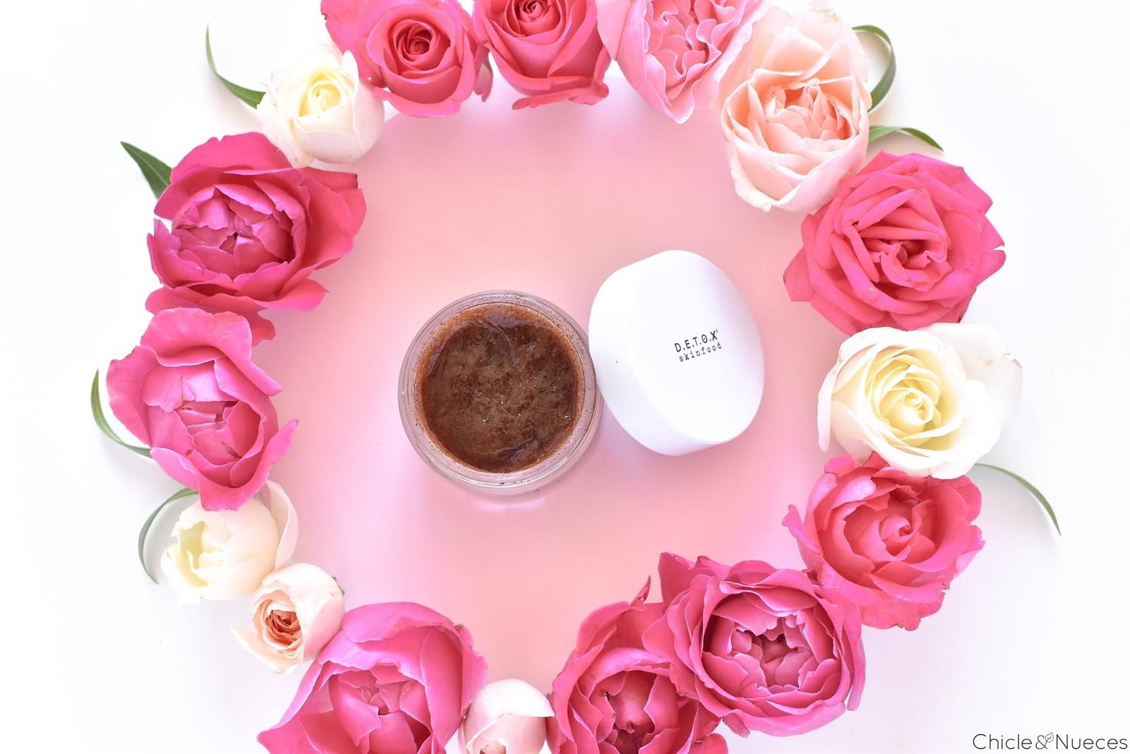Detox Skinfood aceite facial y exfoliante
