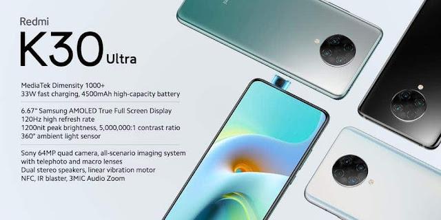 رسميا هاتف REDMI K30 ULTRA